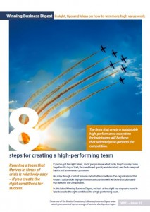 WBD 37 High performing team cover