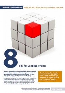 WBD 40 Leading pitches